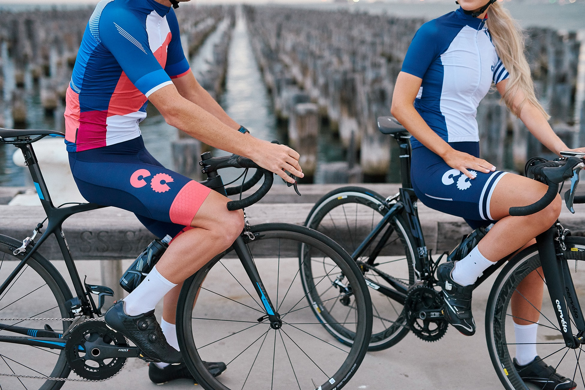 colour block cycling kit