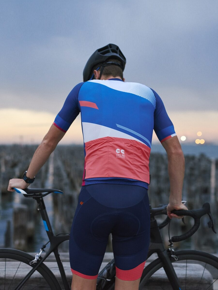 Colour Block mens Cycling Kit- Cycling Couture