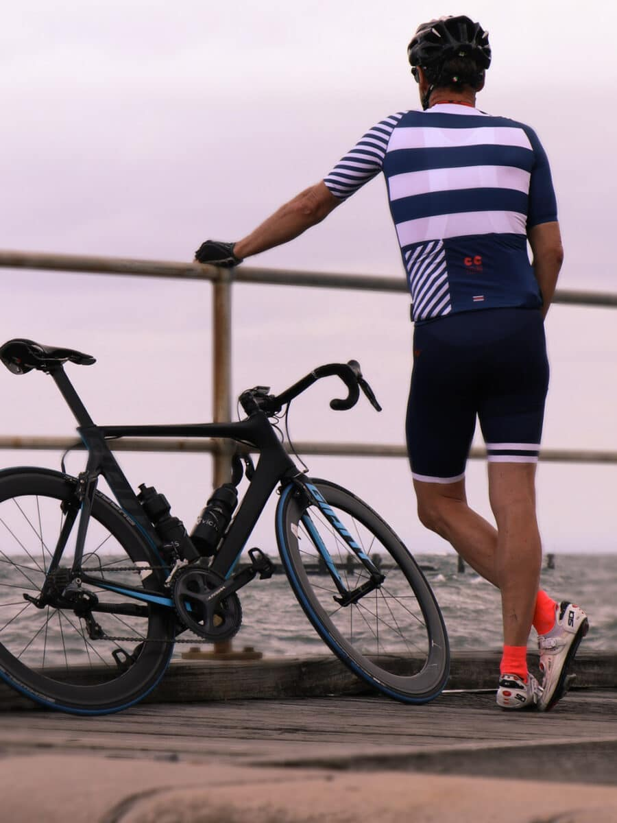 Breton Stripes mens Cycling Kit- Cycling Couture