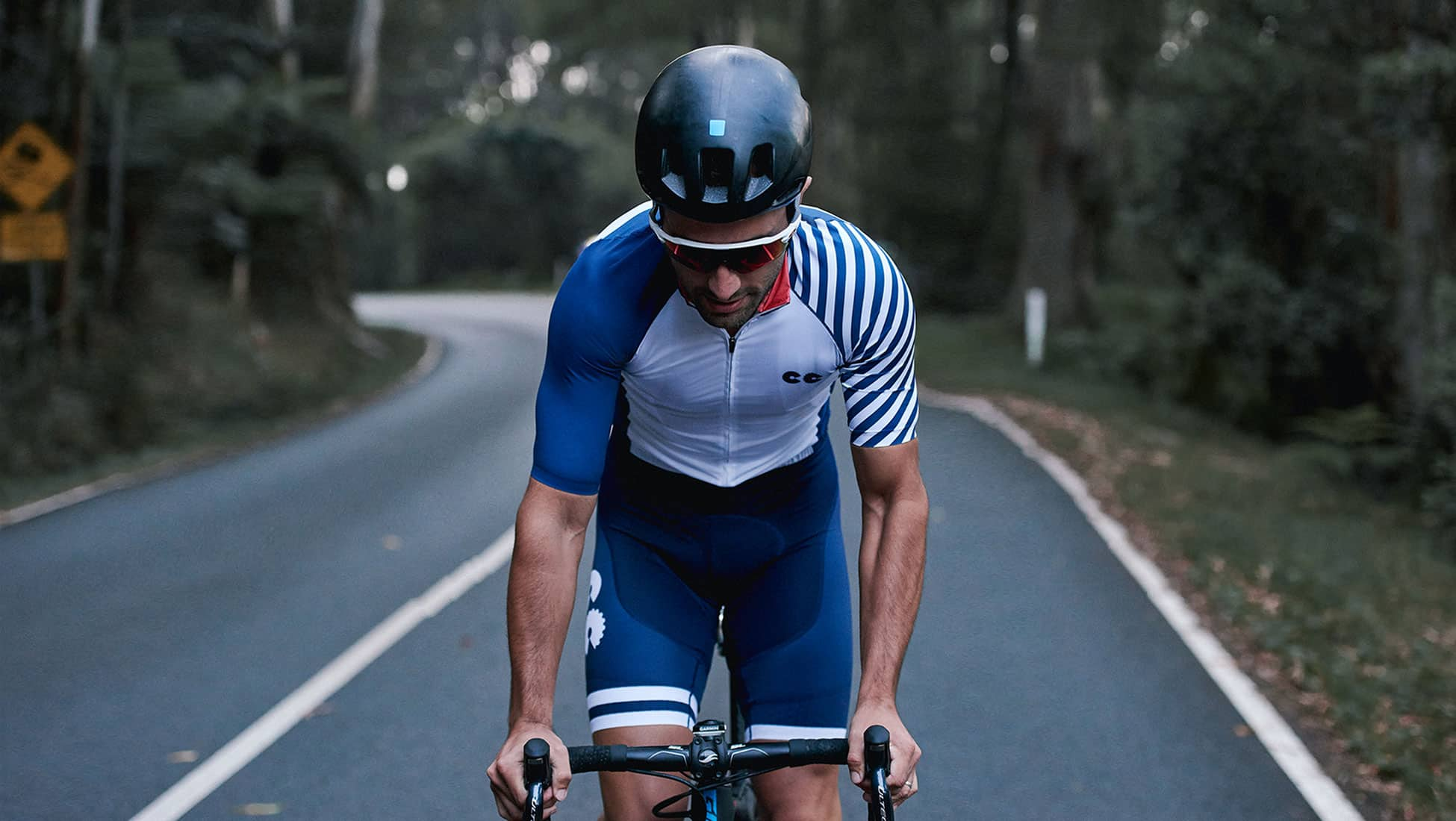breton stripe cycling kit