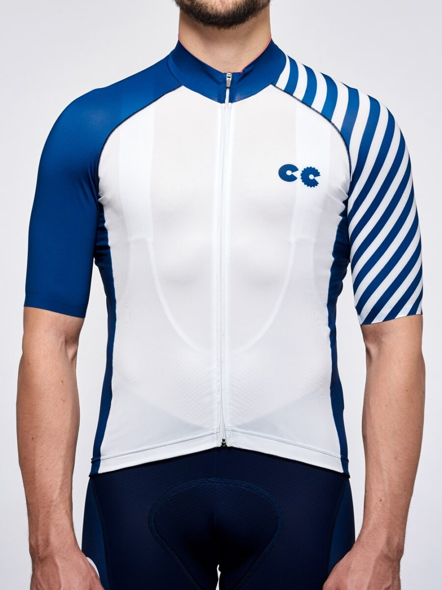 Cycling Kit Breton Stripe- Cycling Couture