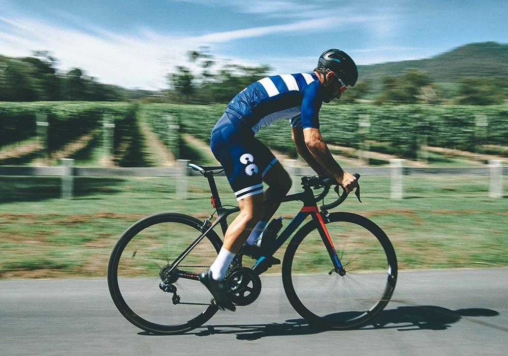 breton stripe cycling kit