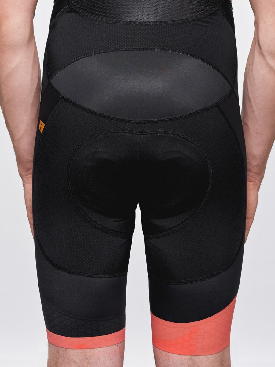 Black Panther Mens Cycling Bibs- Cycling Couture