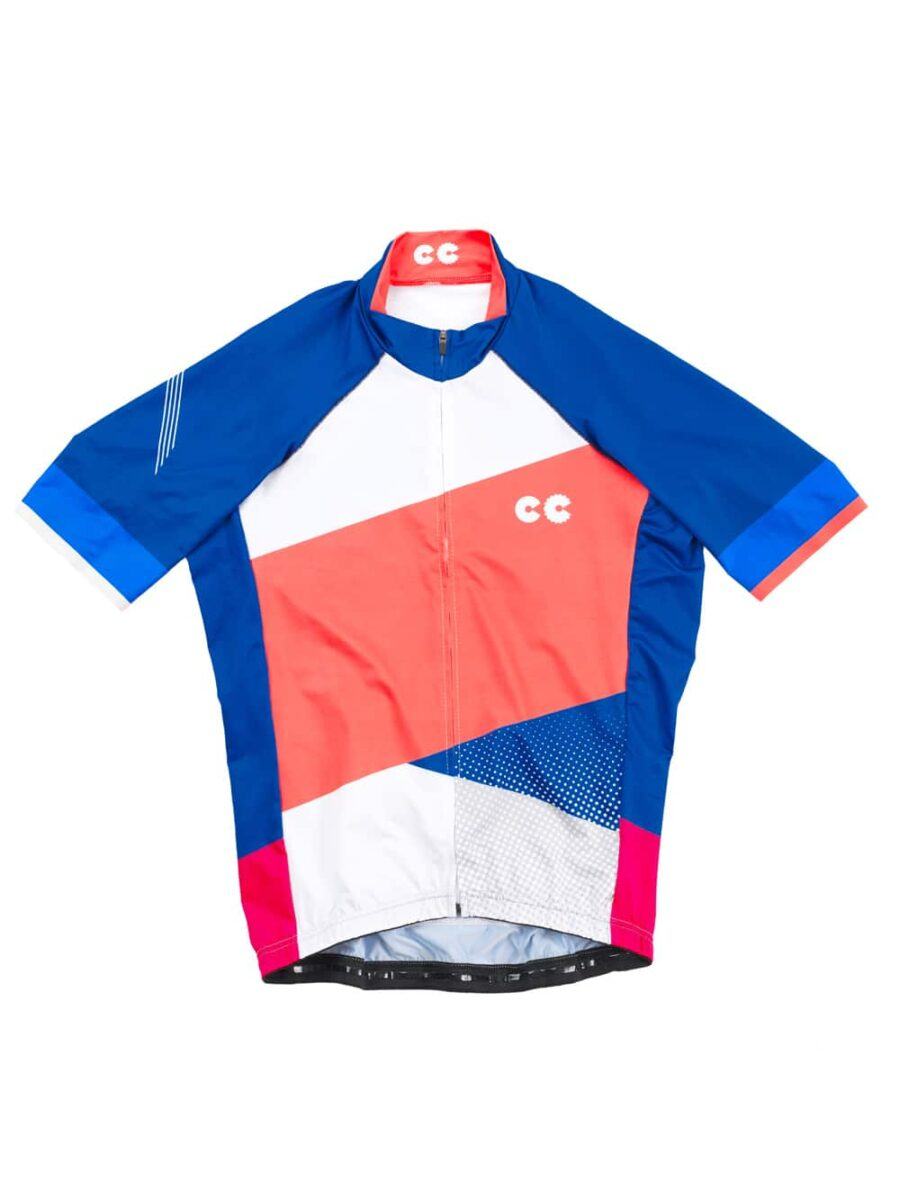 Colour Block Mens Cycling Jersey- Cycling Couture