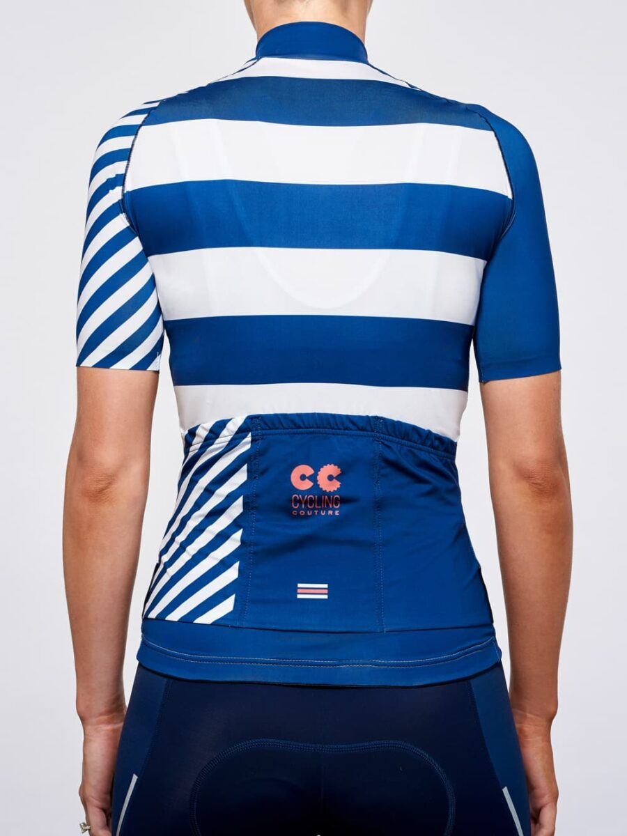 Breton Stripes Womens Cycling Jersey- Cycling Couture