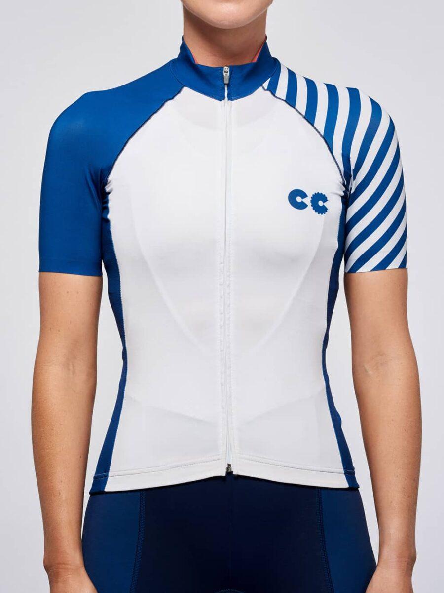 Cycling Apparel_Womens_Breton_stripe_Front