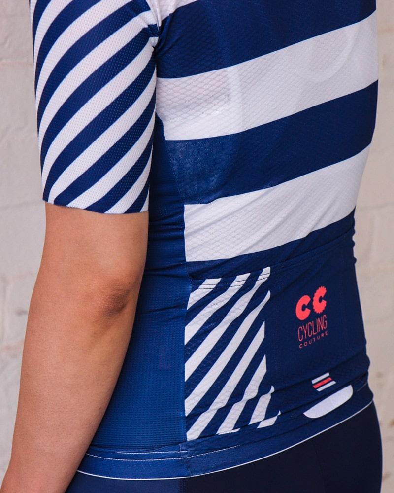 breton stripe womens cycling kit